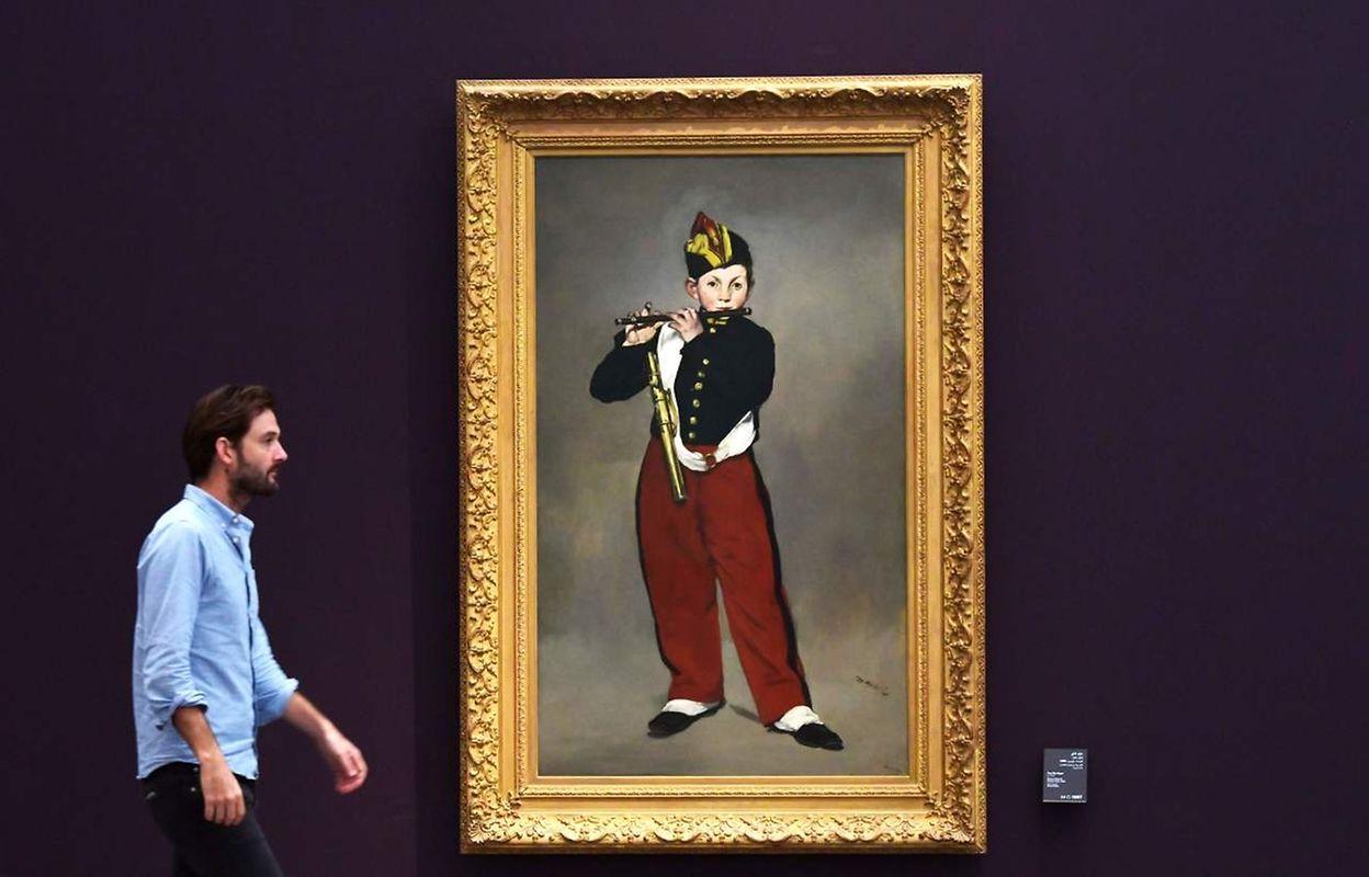 """""""Le joueur de fifre"""" d'Edouard Manet"""