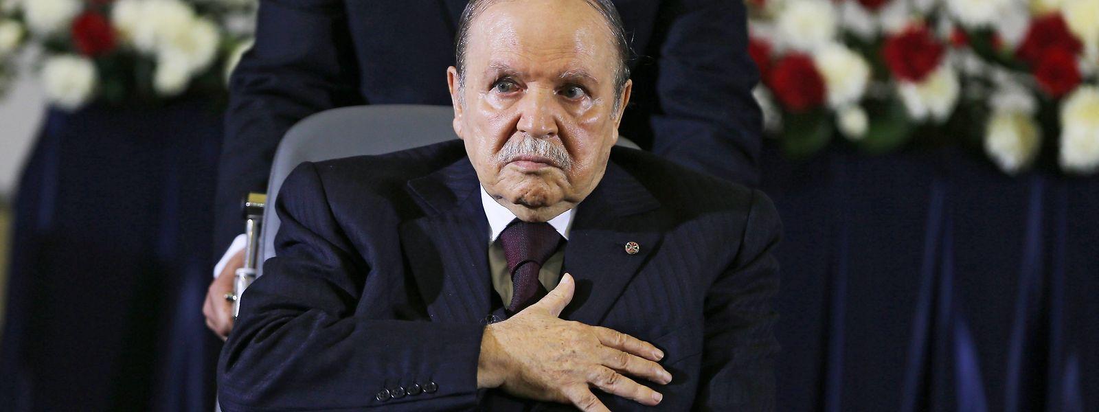 Der 82-jährige Abdelaziz Bouteflika ist seit 1999 Staatschef von Algerien.