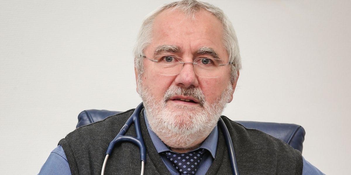 """Dr. Nico Haas ist Koordinator der """"Formation spécifique en médecine générale"""" an der Uni Luxemburg."""