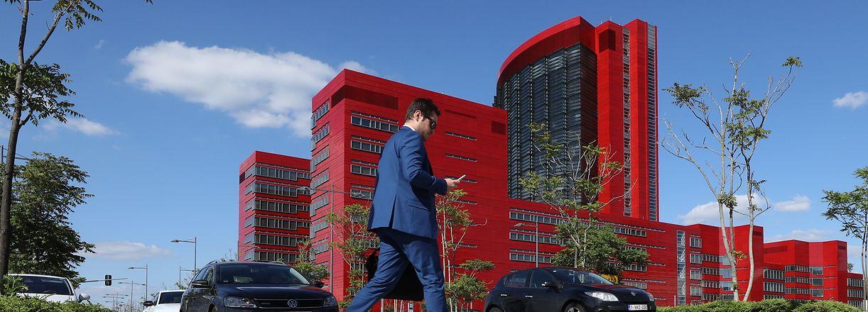 Wirtschaft, classement des banques, RBC Investor Services Bank SA  Bank, Banken, Foto: Guy Wolff/ Luxemburger Wort