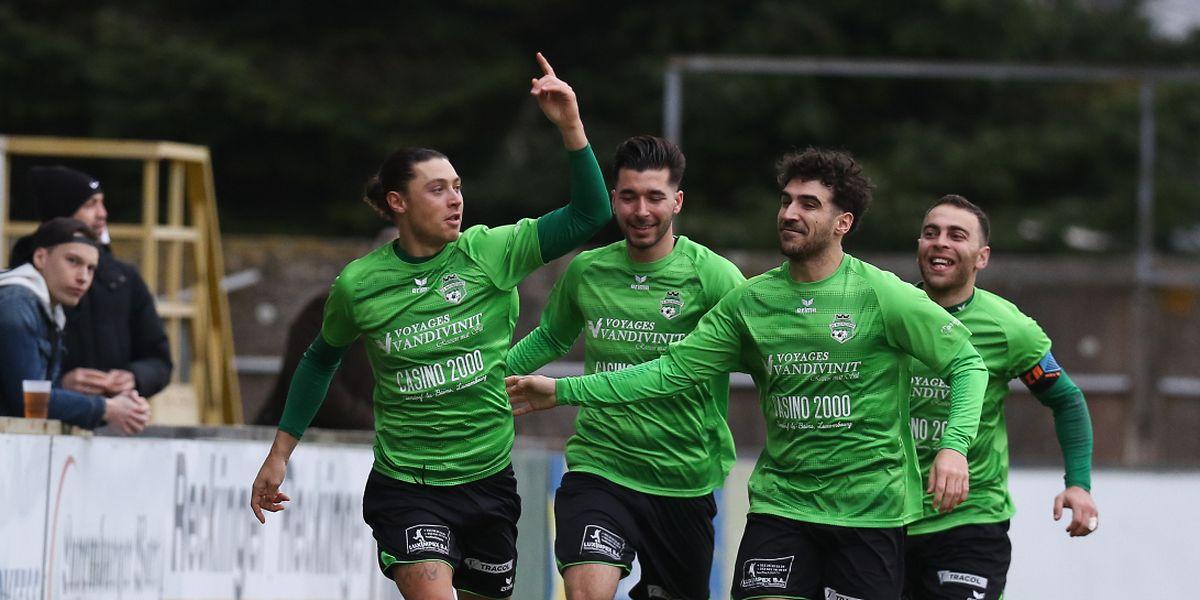 Alessandro Scanzano a rapidement ouvert le score sur la pelouse de la Frontière.