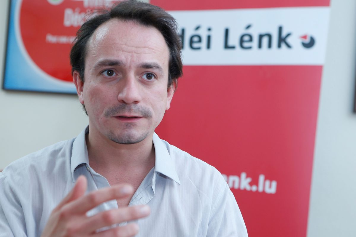 Marc Baum, deputado do déi Lénk, diz que o Governo tem agora mais pressão para mudar os dias de férias ou o número de horas semanais de trabalho
