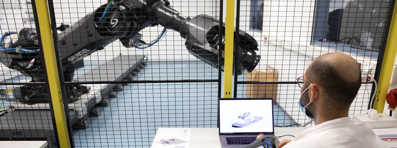 Im Labor in Oberkerschen soll die neue Technologie gemeinsam mit dem LIST zur Industriereife weiterentwickelt werden.