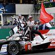 La Toyota TS050 de Alonso, Nakajima et Buemi a tiré les marrons du feu au Mans.