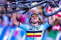 Innsbruck 2018: Remco Evenepoel gewinnt das WM-Straßenrennen der Junioren.