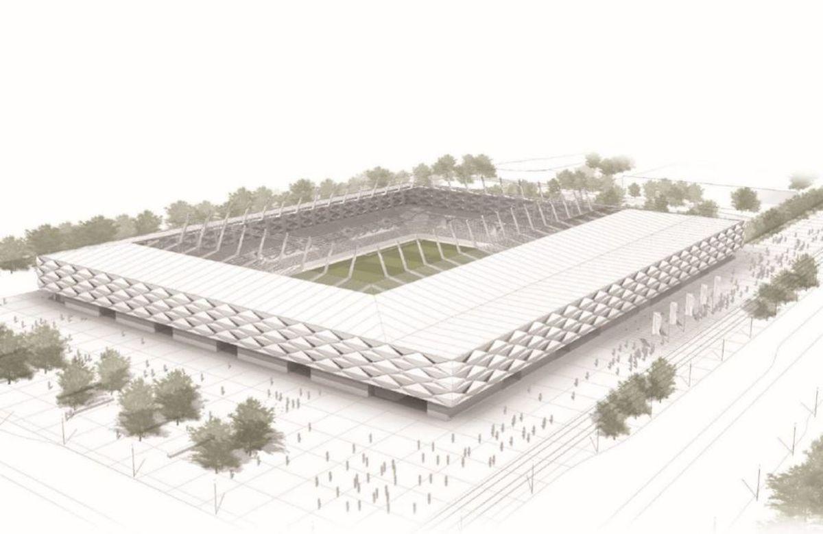 O projecto do estádio nacional é assinado pelo mesmo gabinete de arquitectura que projectou um dos estádios do Mundial de Futebol no Brasil, em 2014
