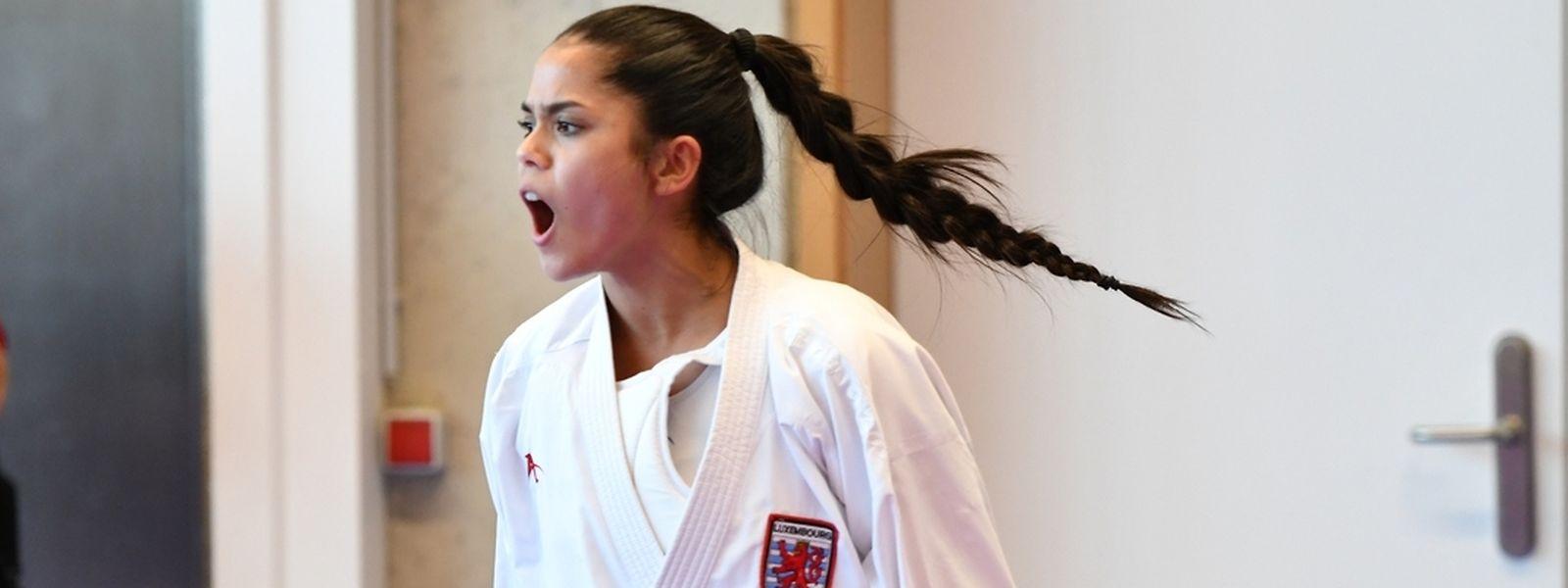 Für Karateka Kimberly Nelting ist Sport ein Teil ihres Lebens.