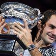 Federer não vencia um torneio do 'Grand Slam' desde Wimbledon em 2012