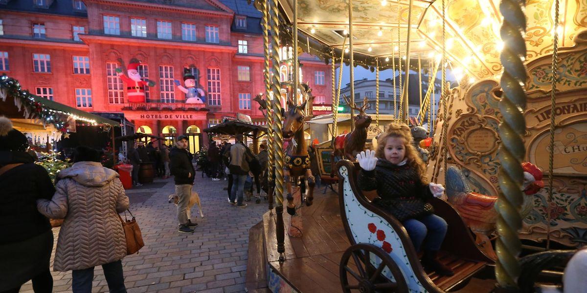Den Auftakt der Weihnachtsmarkt-Saison machte in diesem Jahr jener in Esch/Alzette.