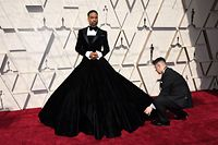 US actor and singer Billy Porter arrives for the 91st Annual Academy Awards at the Dolby Theatre in Hollywood, California on February 24, 2019. (Photo by Mark RALSTON / AFP)