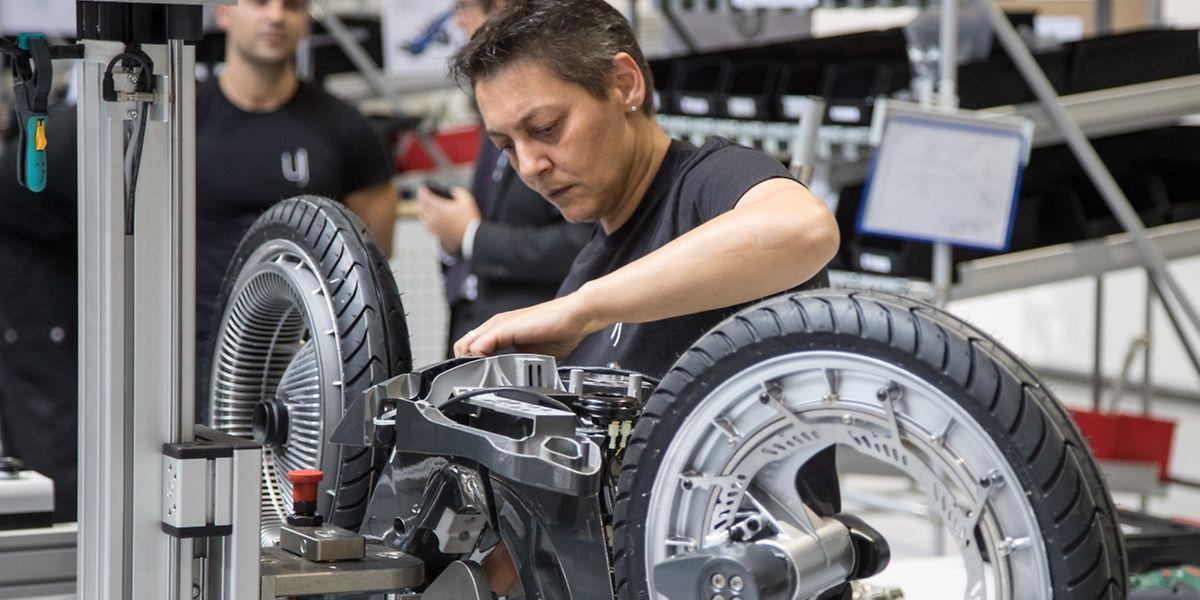 Quelques modèles sont déjà sortis de l'usine flambant neuve de Foetz. D'ici à la fin de l'année, la production devrait avoir vraiment démarré.