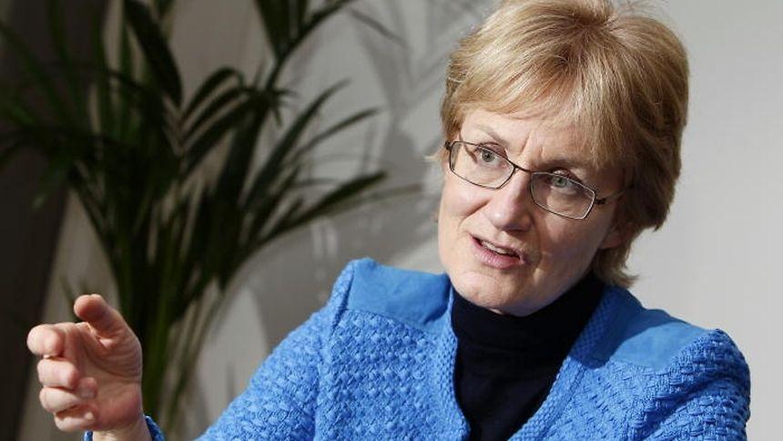 Mady Delvaux tritt bei den Wahlen nicht mehr an.