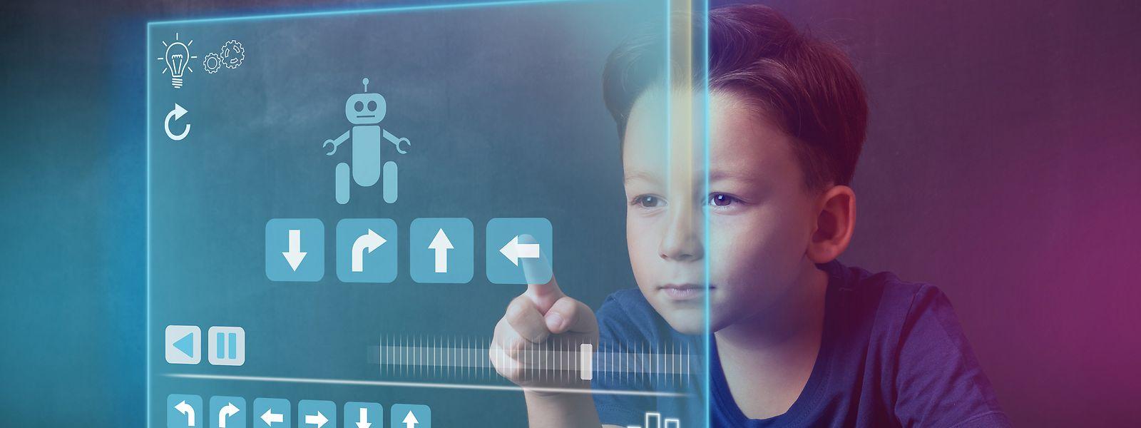 Kinder wachsen wie selbstverständlich mit Computern, Tablets, Smartphones und Applikationen auf.