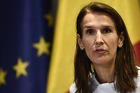 Die 44-jährige liberale Politikerin Sophie Wilmes soll die erste Regierungschefin Belgiens werden.