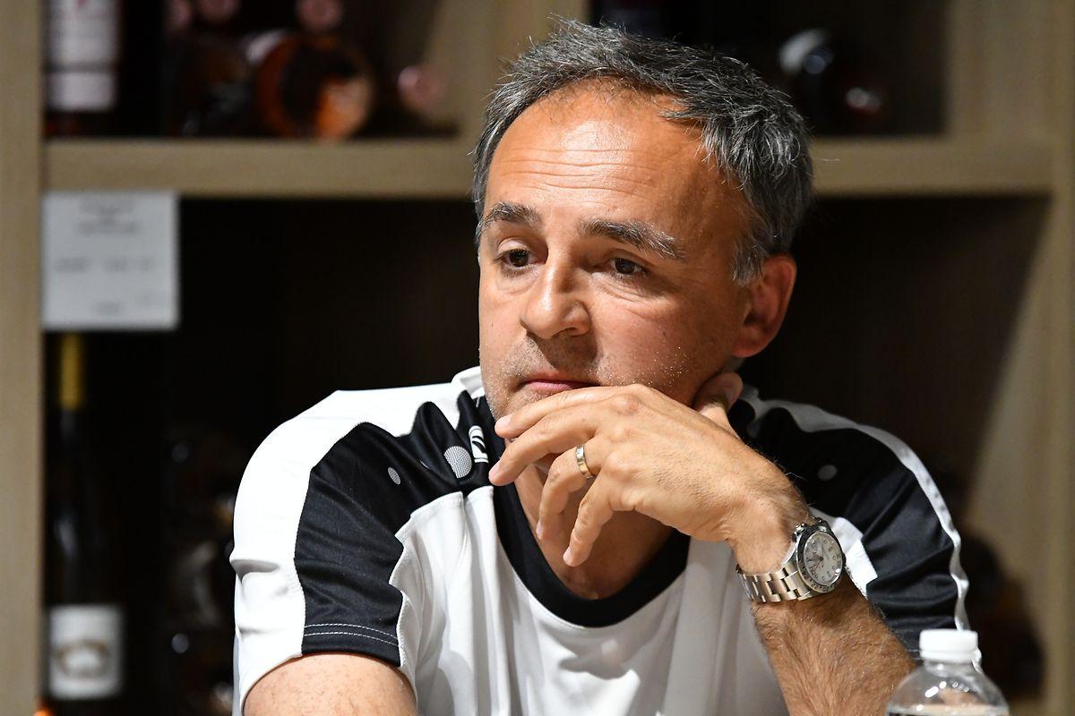 Emilio Ferrera, Team manager du F91.