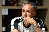 Emilio Ferrera, nouvel entraîneur F91 Dudelange / Foto: Stéphane Guillaume