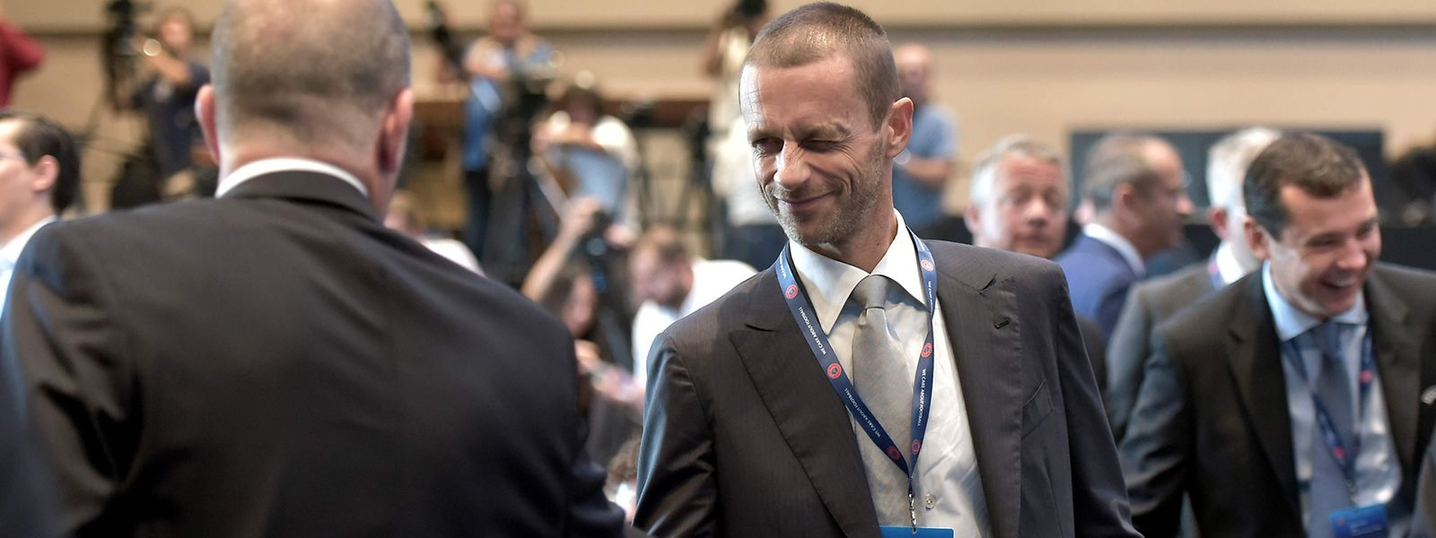 Aleksander Ceferin hat einen lockeren Wahlsieg eingefahren.