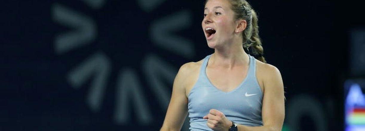 60 Tennis BGL BNP PARIBAS Luxembourg Open 2014 Kockelscheuer 16.10.2014 Annika Beck