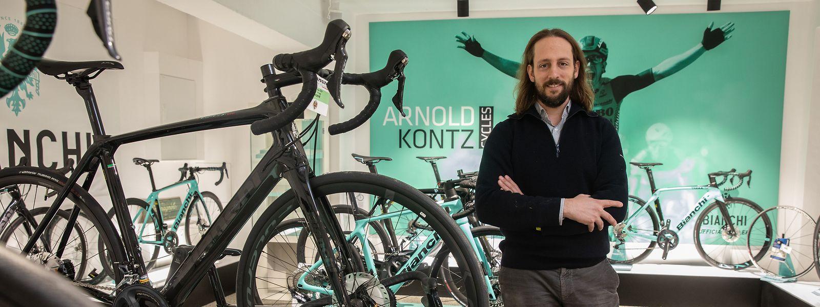 """Benji Kontz im neuen Geschäft: """"Mit so einem Andrang hatte ich nicht gerechnet."""""""