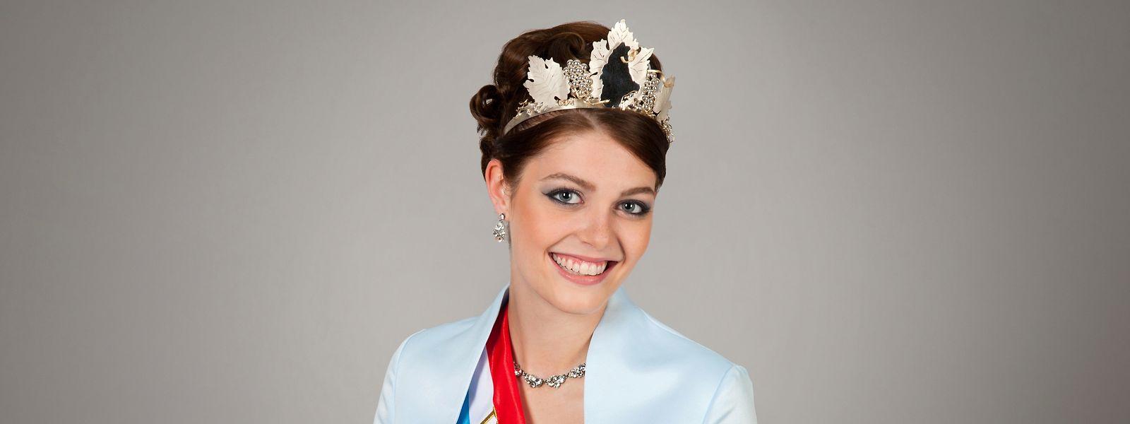 Sophie Schons wird in den nächsten zwölf Monaten als Weinkönigin das Großherzogtum und die Luxemburger Mosel vertreten.