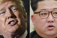 Am 12. Juni sollten Donald Trump (l.) und Kim Jong-Un aufeinandertreffen. Doch sicher ist das nicht.