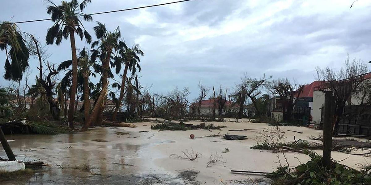In einem von einer Naturkatastrophe heimgesuchten Gebiet - hier Saint-Barthélemy - muss niemand Urlaub machen.