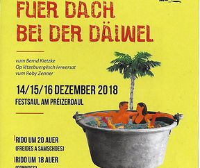 Theater: Fuer dach bei der Däiwel