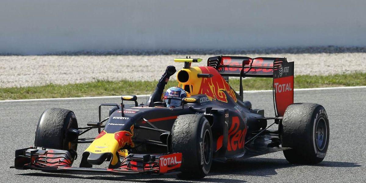 In seinem ersten Rennen für Red Bull schreibt Max Verstappen Geschichte.