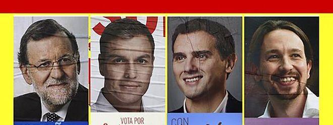 """Nenhum dos principais partidos conseguiu maioria absoluta, e as negociações para formar governo podem passar por uma """"solução à portuguesa"""""""
