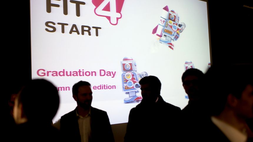 Fit For Start conference and graduate day for two start-ups that successfully completed the pilot programme
