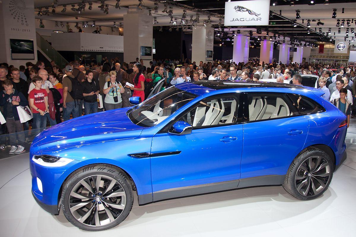 Show der Konzepte: Wie beim Jaguar Crossover C-X17 im Jahr 2013 werden auf der diesjährigen IAA neue Studien der Autohersteller erwartet.