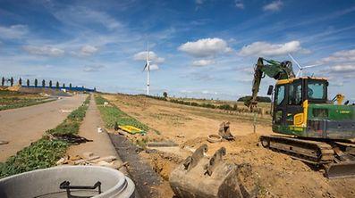 neue Aktivitätszone in Grass, Foto Lex Kleren