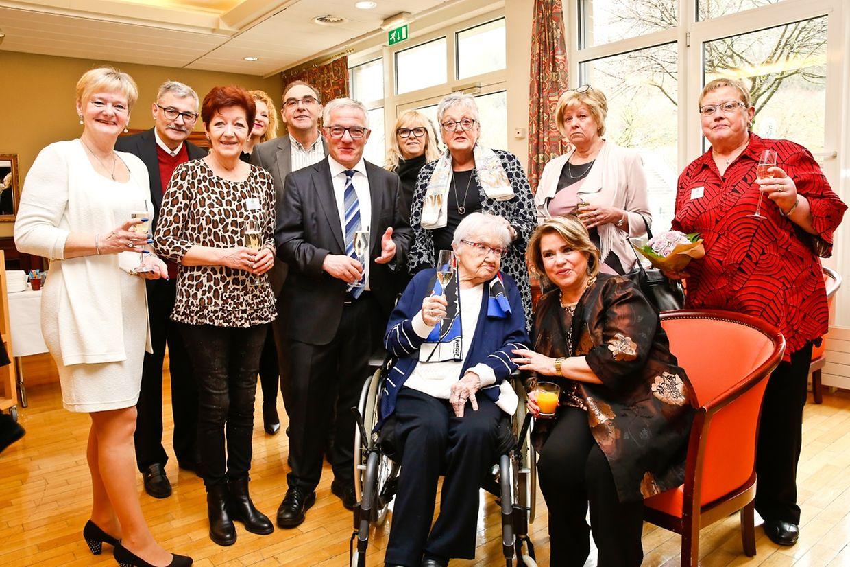 Germaine Kauffmann ist 110 Jahre alt geworden.