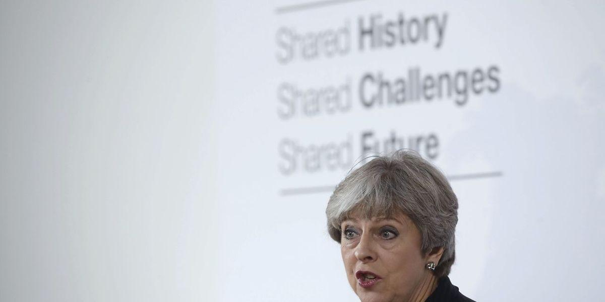 May sagte am Freitag in Florenz, Großbritannien wolle auch nach dem EU-Austritt ein starker Partner der Europäischen Union bleiben.