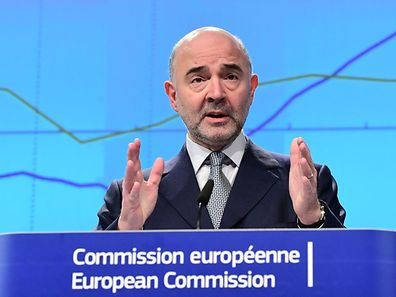 EU Commissioner for Economic and Financial Affairs, Taxation and Customs, Pierre Moscovici