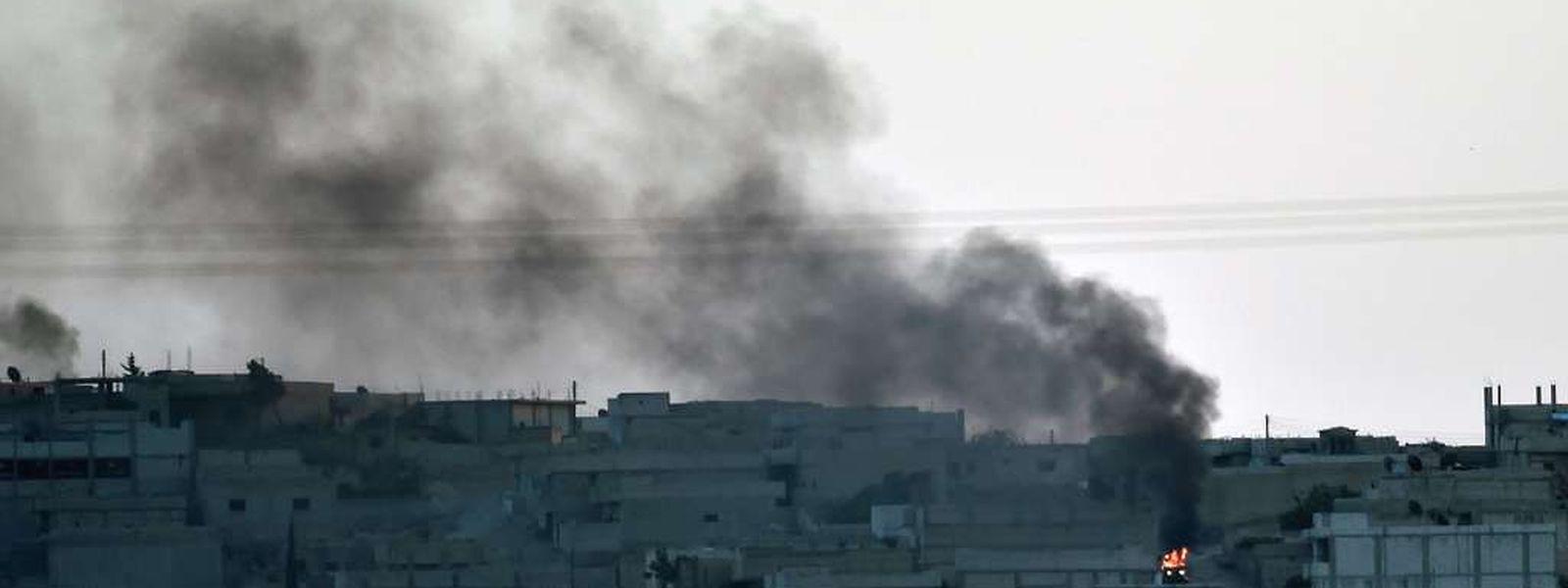 In Kobane, einer syrischen Stadt nahe der Türkei, dürften sich nur noch wenige Zivilisten befinden.