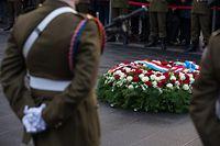 """Commémoration Armistice/1. Weltkrieg """"Kanounenhiwwel"""" Gëlle Fra, Foto Lex Kleren"""