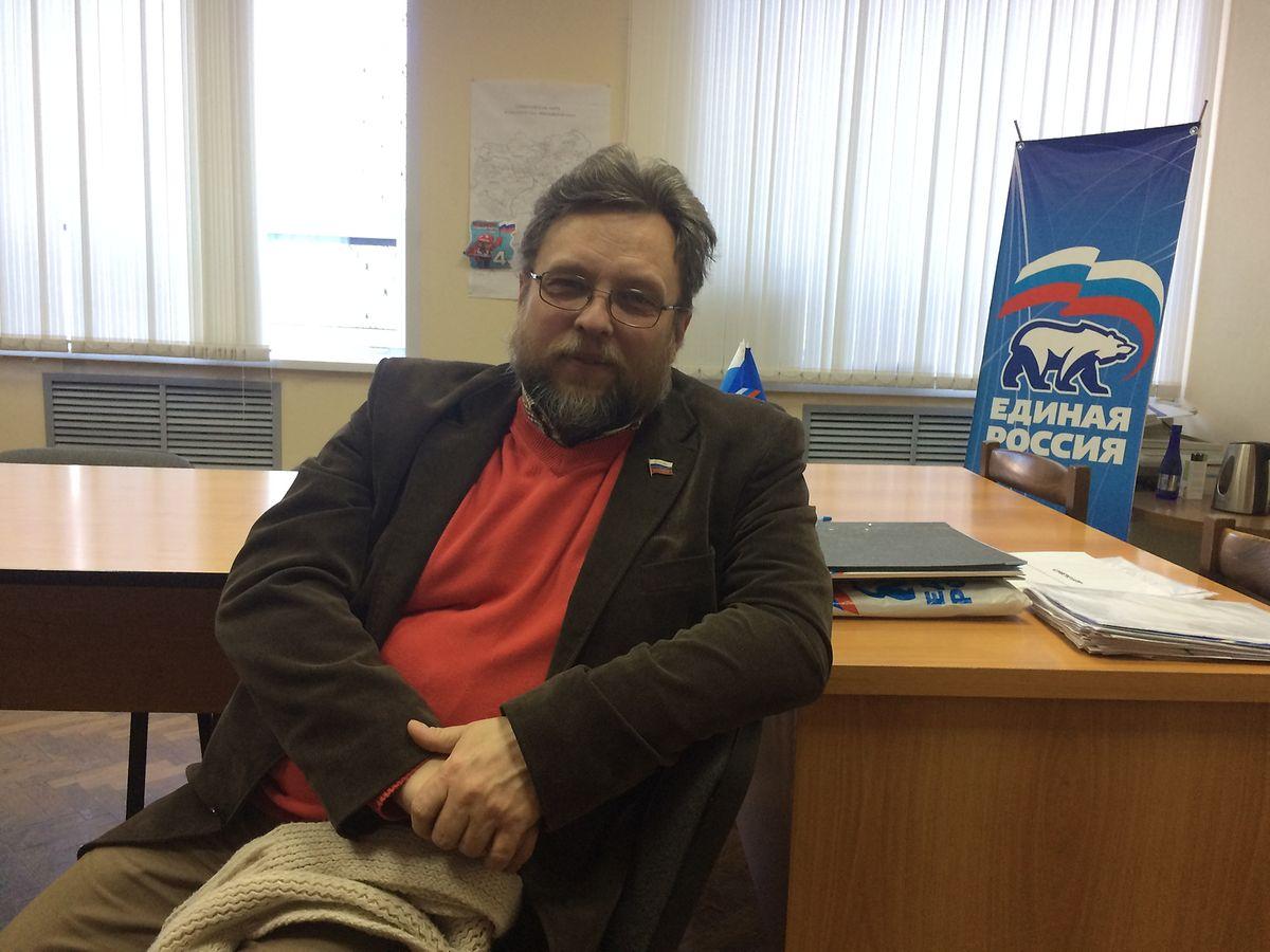 Michail Woronow, der Vorsitzende der Bezirksduma von Uglitsch