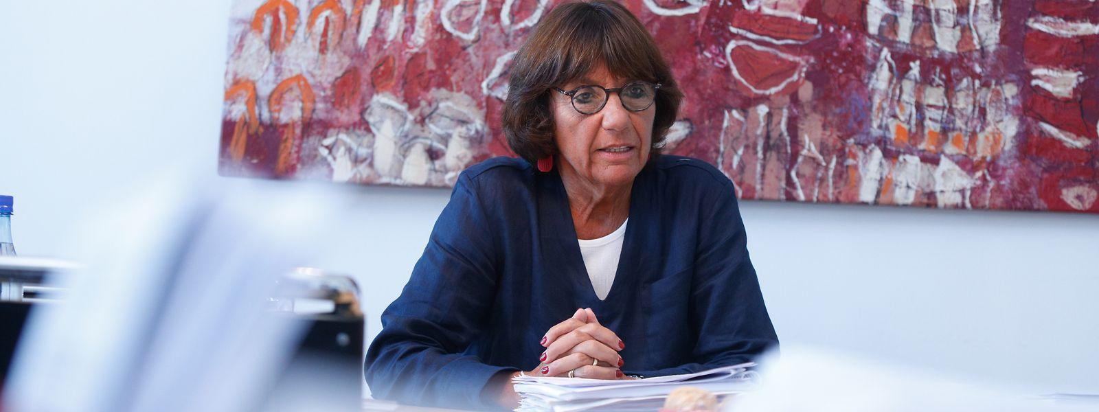 Generalstaatsanwältin Martine Solovieff kritisiert das Verfassungskapitel zur Justiz, weil die Unabhängigkeit der Staatsanwaltschaften dem Rotstift zum Opfer gefallen ist.