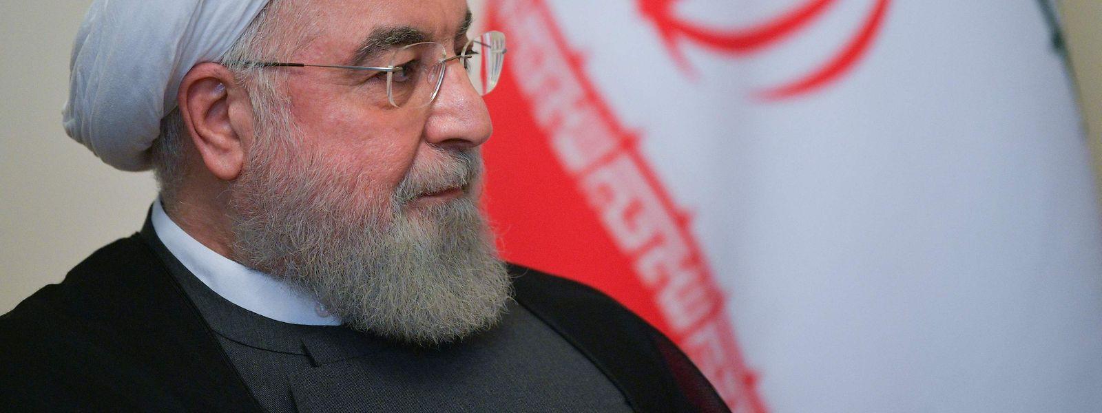 Der iranische Präsident Hassan Rouhani strebt eine Einigung mit den USA an.
