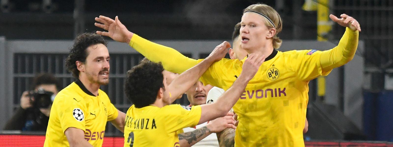 Der Dortmunder Erling Haaland befindet sich weiter in Topform.