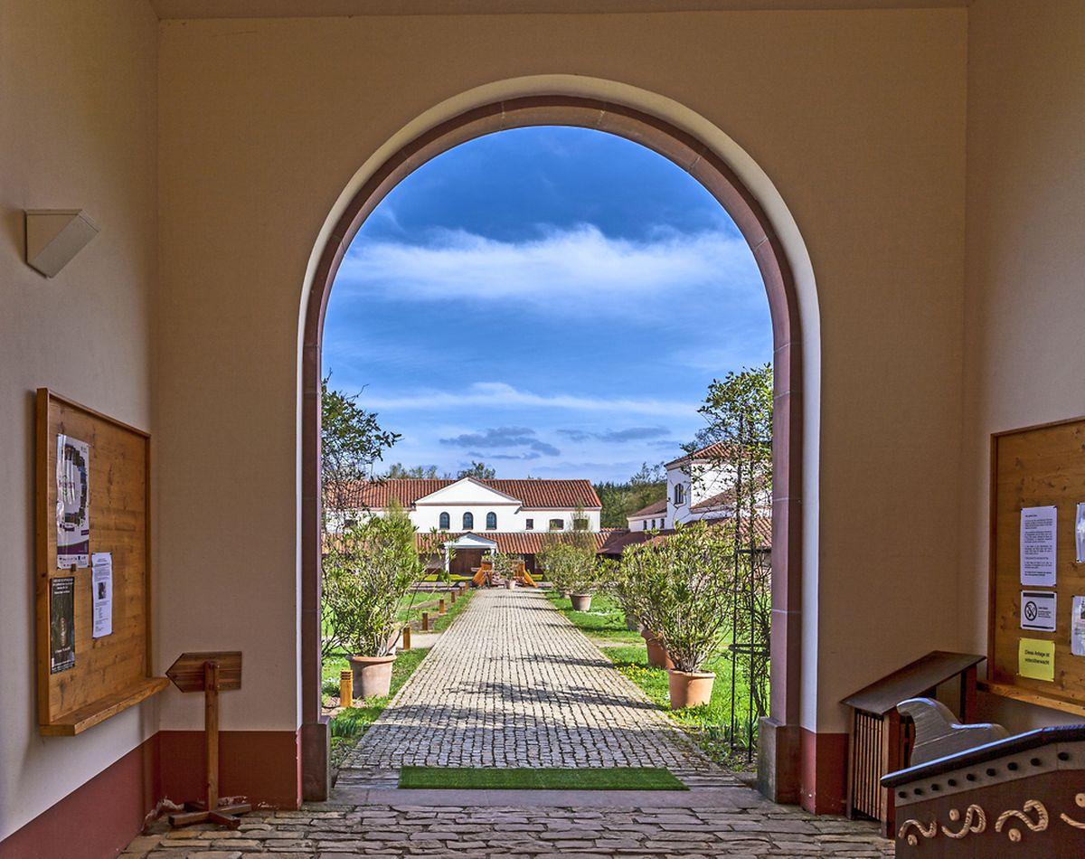 Roman villa, Borg, Germany (Shutterstock)