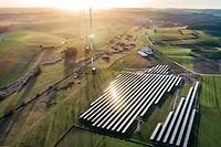 Lokales,RTL-Solarpark.Beidweiler,Solarenergie,erneuerbare Energie. Foto: Gerry Huberty/Luxemburger Wort