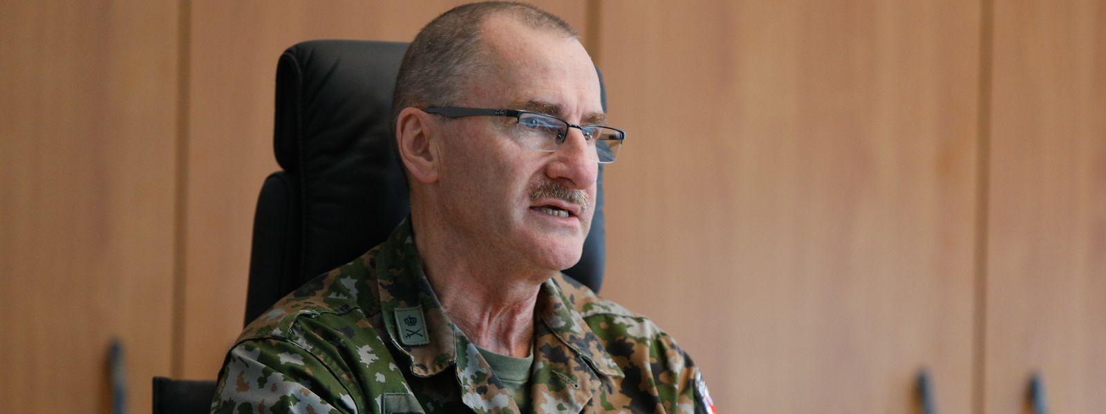 Pour le général Alain Duschène, chef d'état-major, c'est clair: l'armée n'a pas été impliquée dans le développement du projet