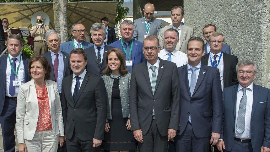 Les responsables politiques locaux se sont retrouvés au musée européen de Schengen