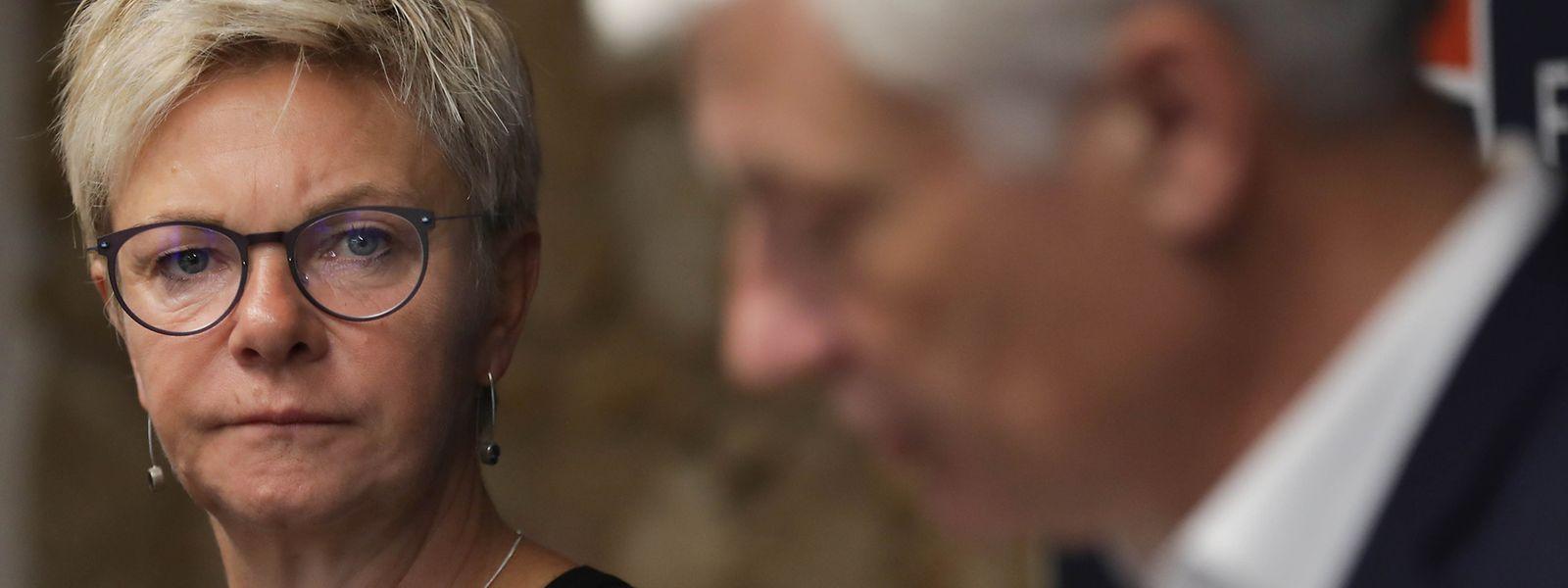 Martine Hansen hat bei den Nationalwahlen ein exzellentes persönliches Ergebnis erzielt und wird Claude Wiseler voraussichtlich als Fraktionschef beerben.