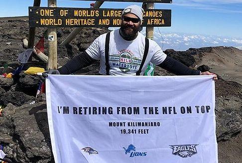 NFL-Profi verkündet Karriereende auf dem Kilimanjaro