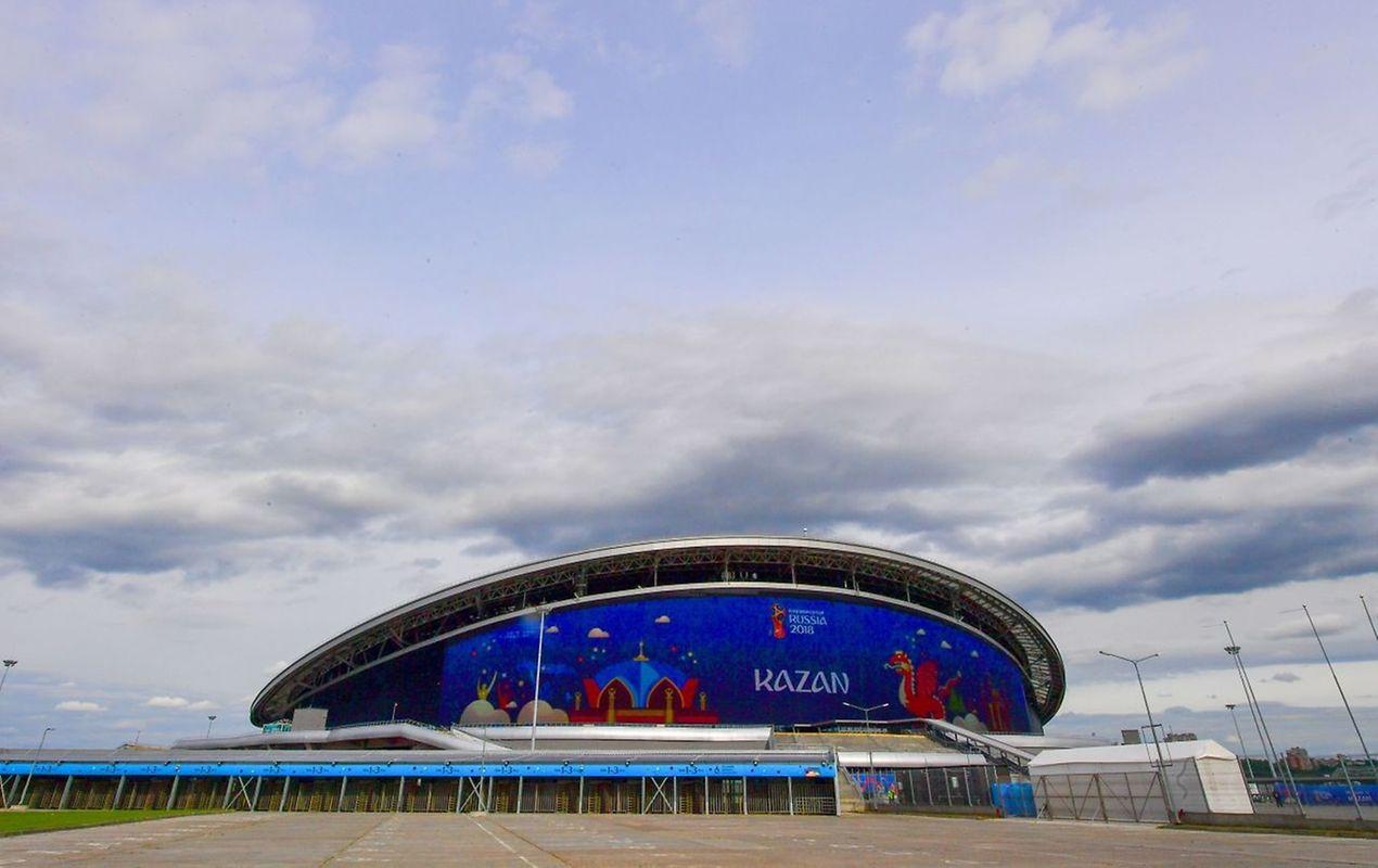 Kazan Arena (45.000 places).  Matchs disputés (6): France - Australie (16 juin), Iran - Espagne (20 juin), Pologne - Colombie (24 juin), Corée du sud - Allemagne (27 juin), un huitième de finale (30 juin), un quart de finale (6 juillet).