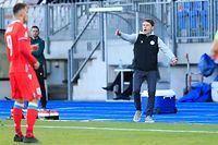 Luc Holtz (Luxemburg– Trainer) / Fussball, Nations League 2020-2021, Liga C, Gruppe I, Spieltag 3 / 10.10.2020 / Luxemburg – Zypern / Stade Josy Barthel / Foto: Yann Hellers