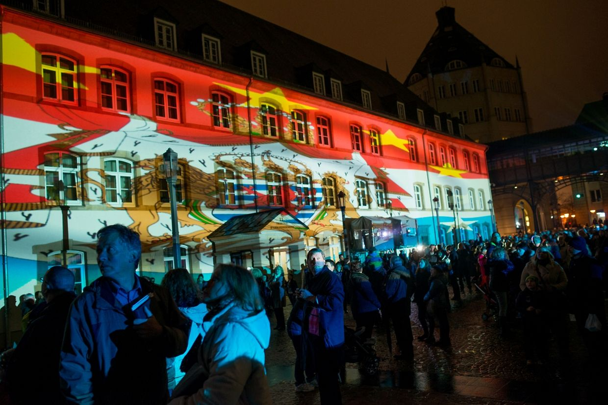 Luxembourg Light Nights - Lancement sympbolique le 18.12.2015 Photo Christophe Olinger